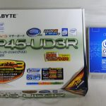 Core 2 Quad Q9550とGA-EP45-UD3R購入